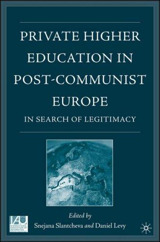 Private higher education in post-communist Europe by