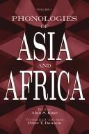 Phonologies of Asia & Africa by