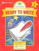 Gifted & Talented, Ready to Write by Tracy Masonis