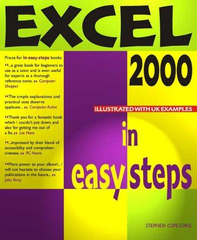 Excel 2000 in Easy Steps by Stephen Copestake