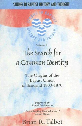 The Search for a Common Identity by Brian Talbot