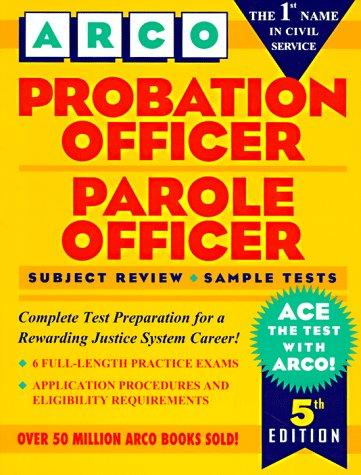 Probation officer, parole officer by edited by Hy Hammer.