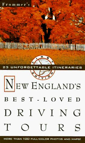 Frommer's New England's Best-Loved Driving Tours by Automobile Association (Great Britain)