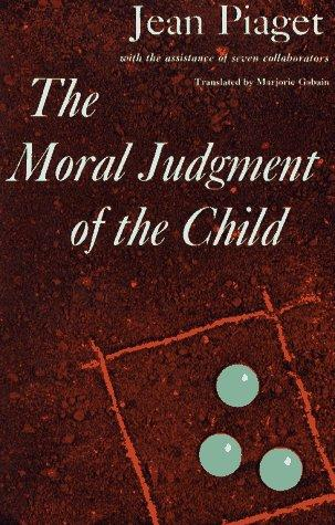 The Moral Judgement of the Child