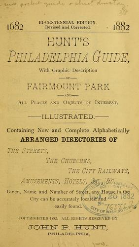 Hunt's Philadelphia guide by