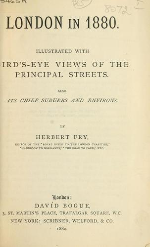 London in 1880 by Herbert Fry