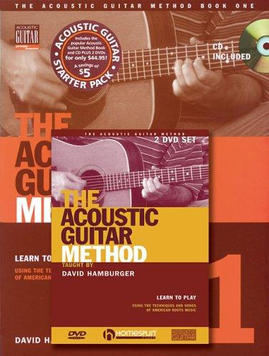 Acoustic Guitar Method by David Hamburger