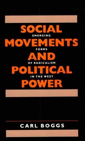 Social Movements and Political Power