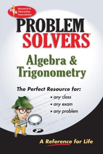 The algebra & trigonometry problem solver by Research and Education Association