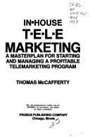 In-house Telemarketing by Thomas A. McCafferty