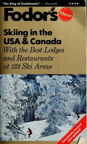 Fodor's skiing in the USA & Canada by Staci Capobianco