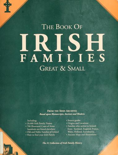 The book of Irish families by Michael C. O'Laughlin