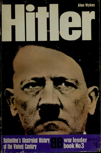Hitler by Alan Wykes