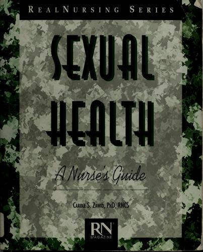 Sexual health by Carole Israeloff Zawid