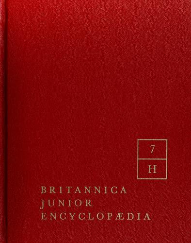 Britannica junior encyclopaedia for boys and girls by