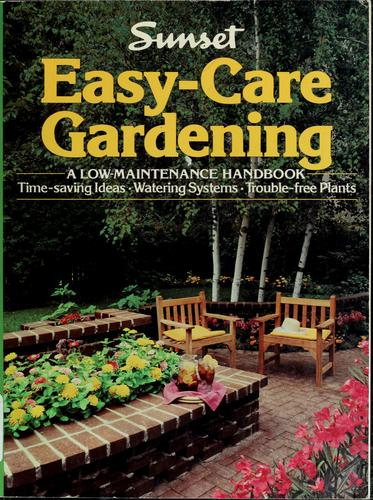 Easy-care gardening by