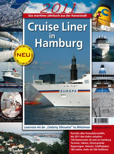 Cruise Liner in Hamburg by