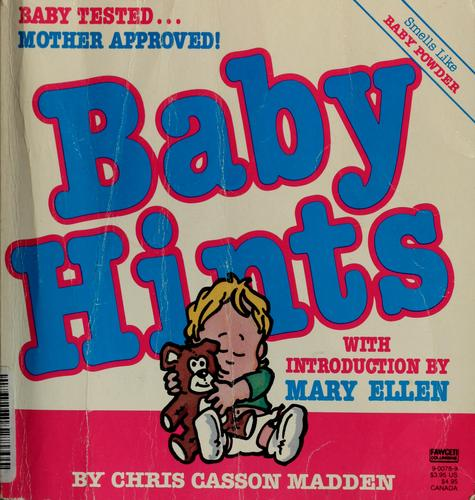 Baby hints by Chris Casson Madden
