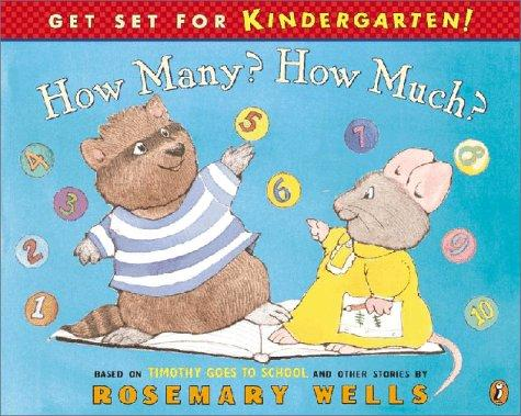 How Many? How Much? (Get Set for Kindergarten!)
