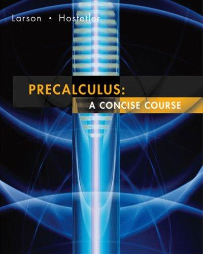 Pre-calculus by Ron Larson, Robert P. Hostetler