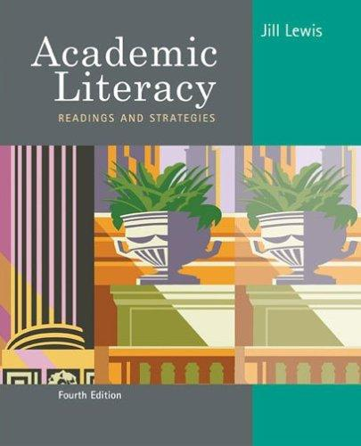 Academic Literacy by Jill Lewis