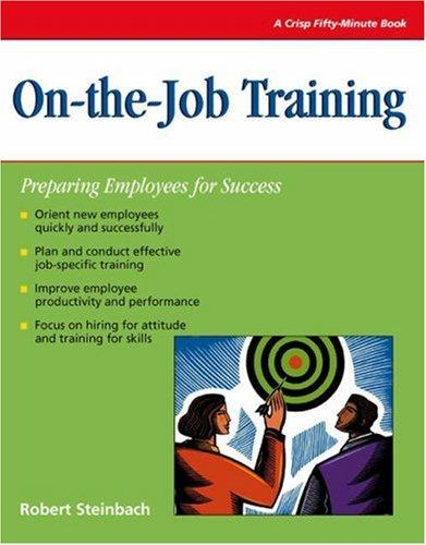 On-the-job training by Robert L. Steinbach
