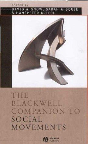 The Blackwell companion to social movements by