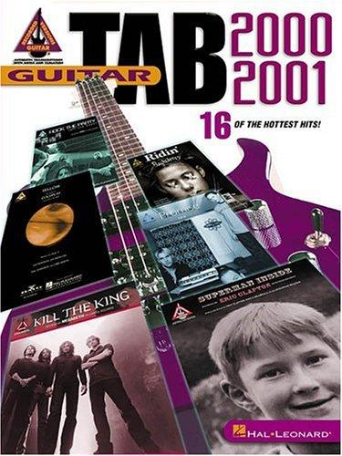 Guitar Tab 2000-2001 by Various Artists