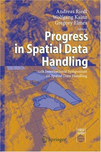 Progress in spatial data handling by