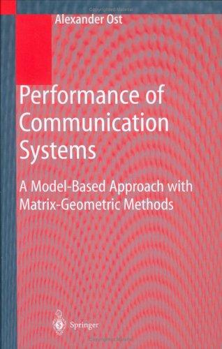 Performance of communication systems by Alexander Ost