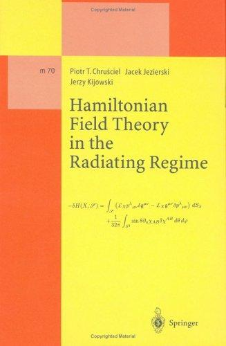 A Hamiltonian field theory in the radiating regime by