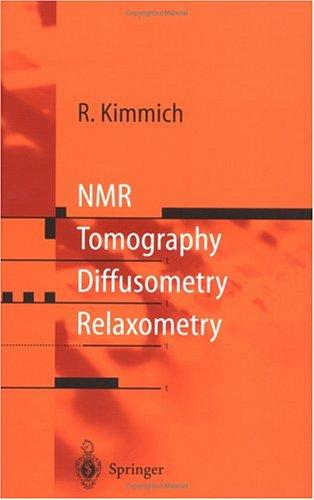 NMR by R. Kimmich