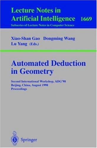 Automated deduction in geometry by