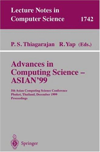 Advances in computing science--ASIAN '99 by