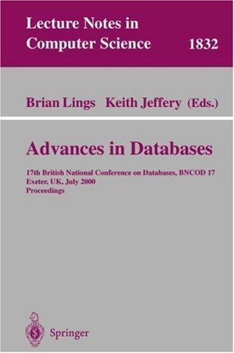 Advances in databases by