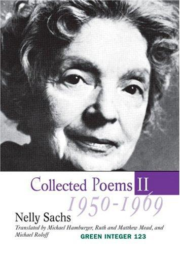Collected Poems II, 1950-1969 by Nelly Sachs
