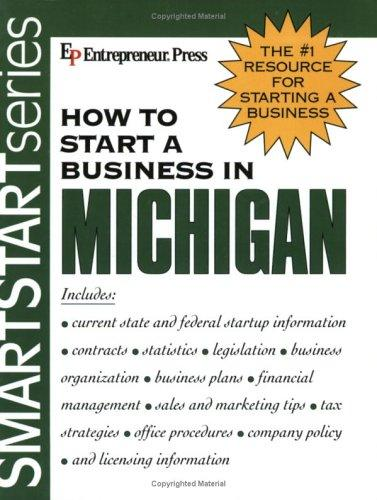 How to Start a Business in Michigan (How to Start a Business in Michigan (Etrm)) by Entrepreneur Press