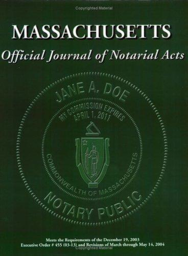 Official Journal of Notarial Acts by Notarytrainer.com, Gerrie Pierre-Fleurimond, Joanna Lilly