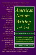 American Nature Writing 1996 by John A Murray