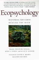 Ecopsychology by