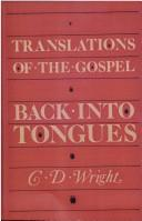 Translations of the Gospel Back into Tongues