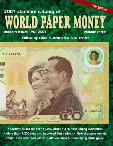 Standard Catalog of World Paper Money, Modern Issues 1961-2000 by Colin R. II Bruce