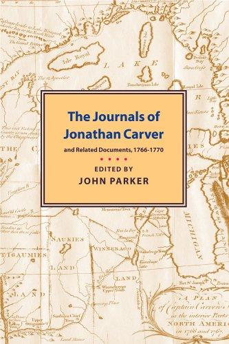 Journals of Jonathan Carver by Jonathan Carver