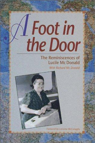 A foot in the door by Lucile Saunders McDonald