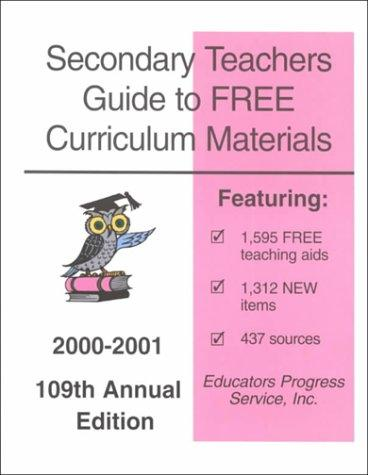 Secondary Teachers Guide to Free Curriculum Materials