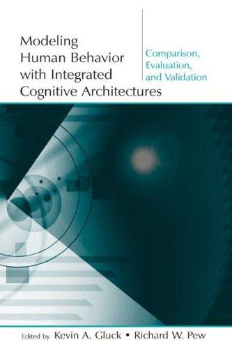 Modeling human behavior with integrated cognitive architectures by