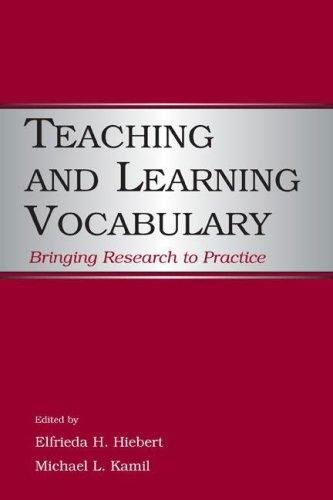 Teaching and learning vocabulary by