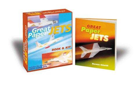 Great Paper Jets Book & Kit by Inc. Sterling Publishing Co.
