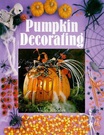 Pumpkin decorating by Vicki Rhodes