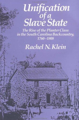 Unification of a slave state by Rachel N. Klein